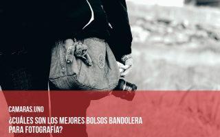 Los 4 mejores bolsos bandolera para fotografía
