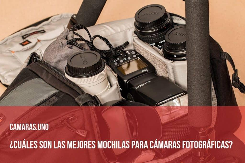 ¿Cuáles son las mejores mochilas para cámaras fotográficas?