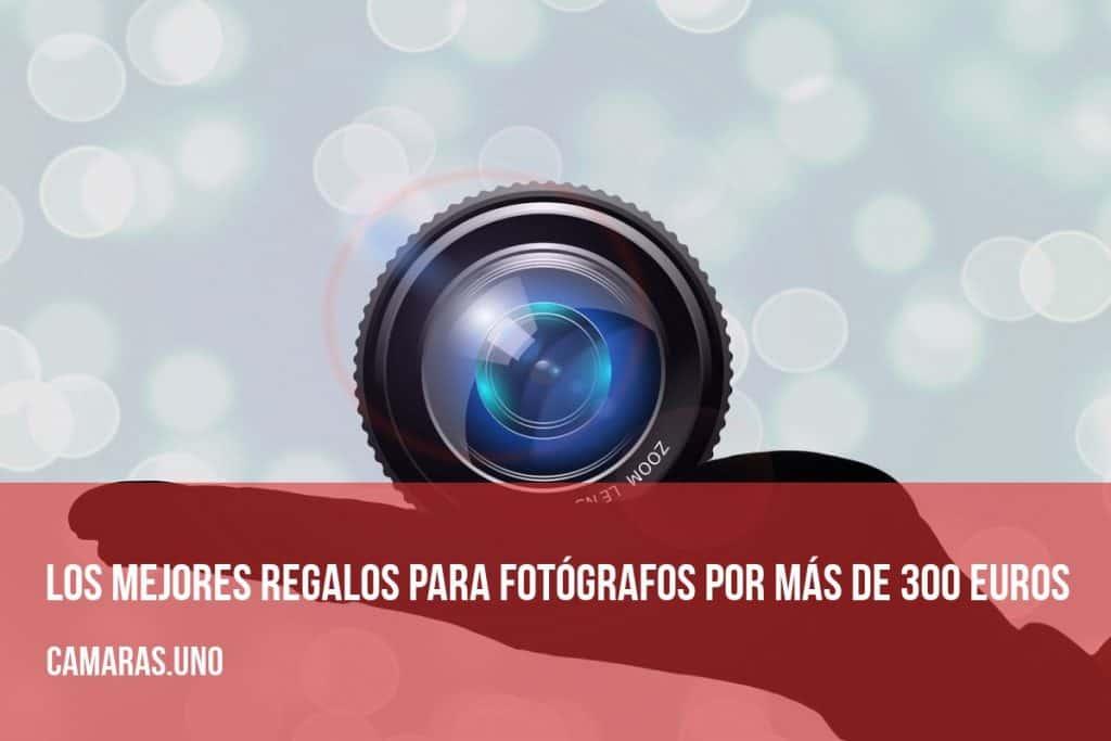 Los mejores regalos para fotógrafos por más de 300 euros
