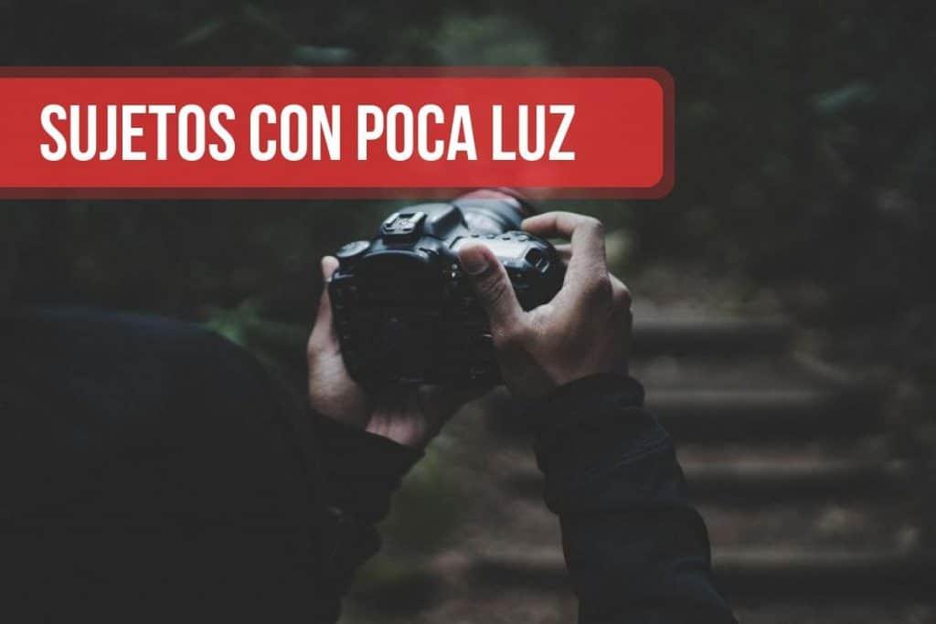 Fotografias en sujetos con poca luz