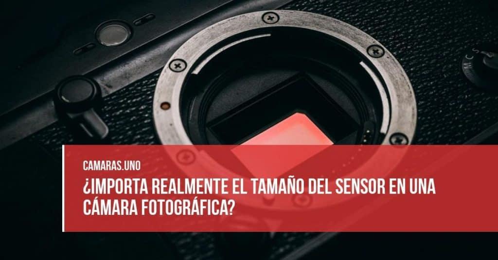 ¿Importa realmente el tamaño del sensor en una cámara fotográfica?