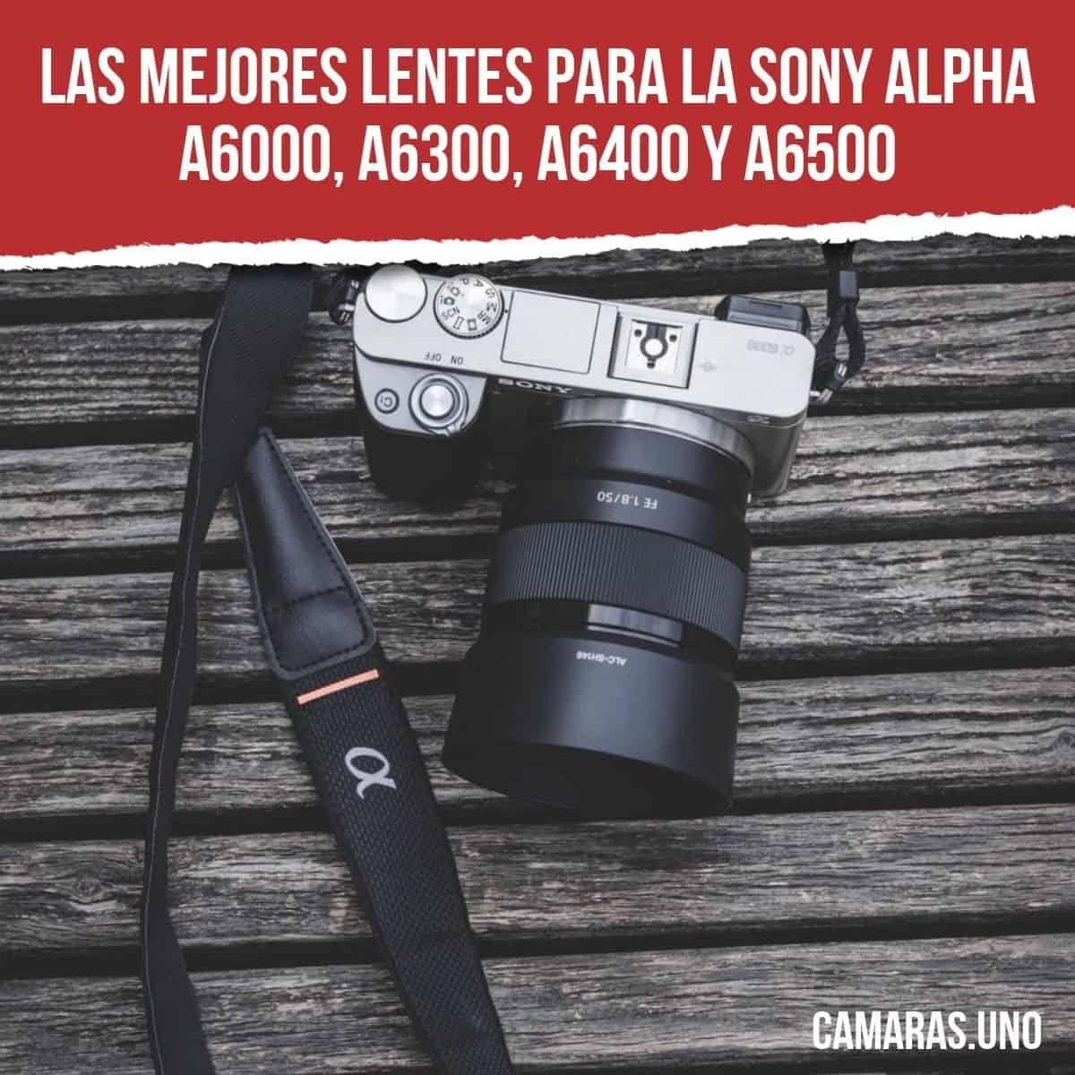 Las mejores lentes para la Sony Alpha a6000, a6300, a6400 y a6500