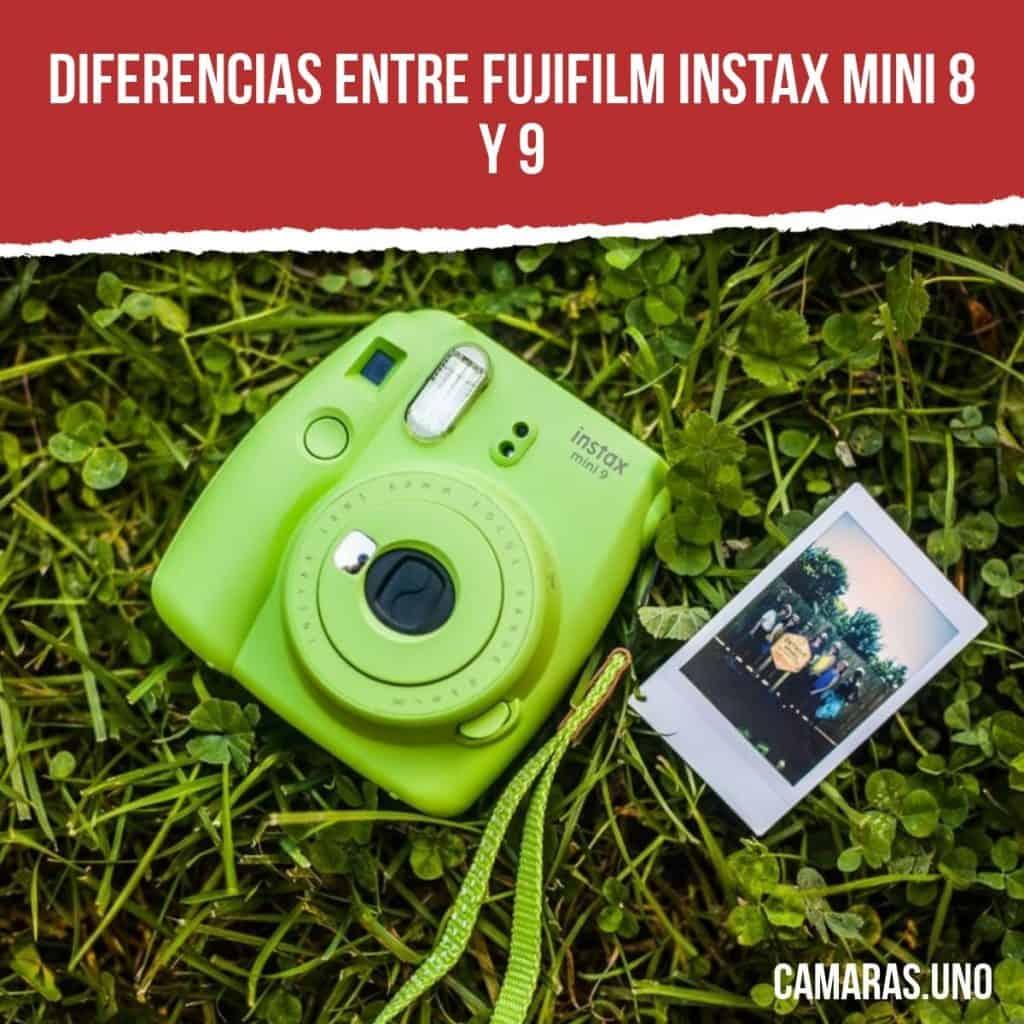 Diferencias entre Fujifilm Instax Mini 8  y 9: Dos cámaras instantáneas perfectas