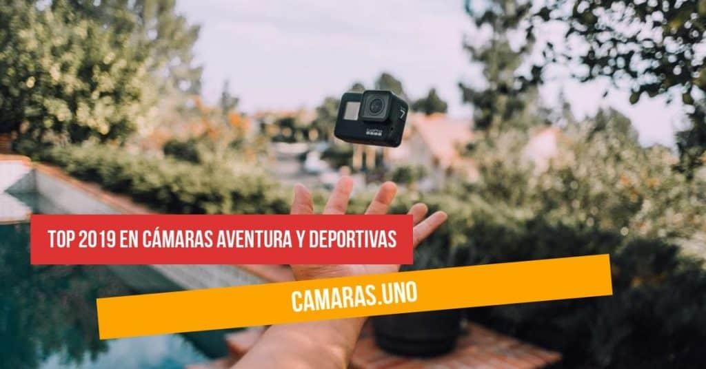¿Cuál es el top 2019 en cámaras aventura y deportivas?