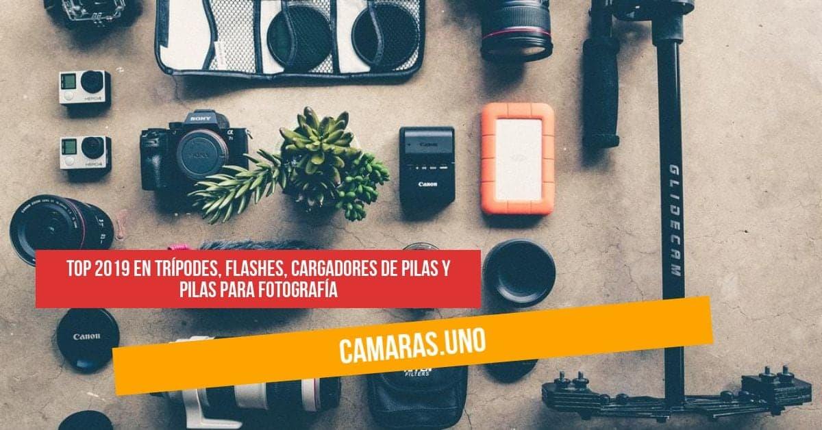 Top 2019 en trípodes, flashes, cargadores de pilas y pilas para fotografía