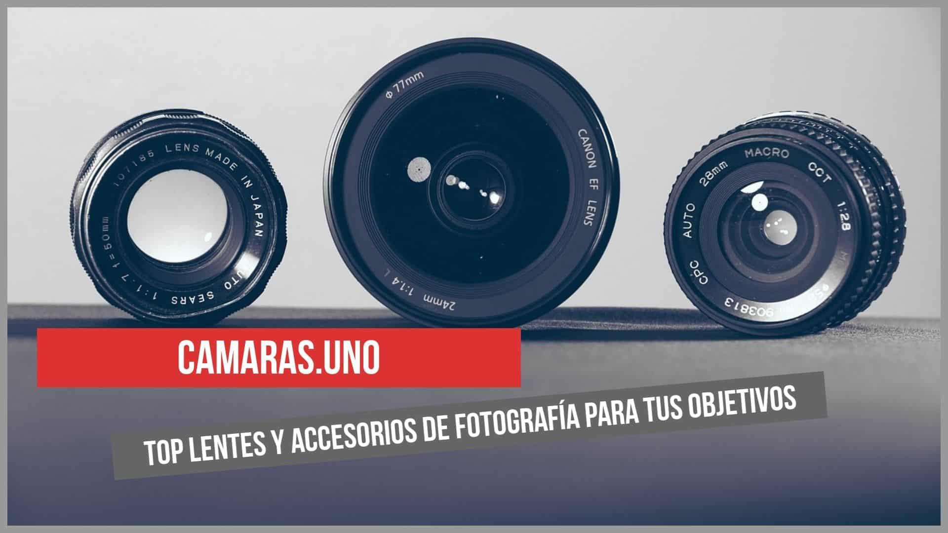 Top lentes y accesorios de fotografía para tus objetivos
