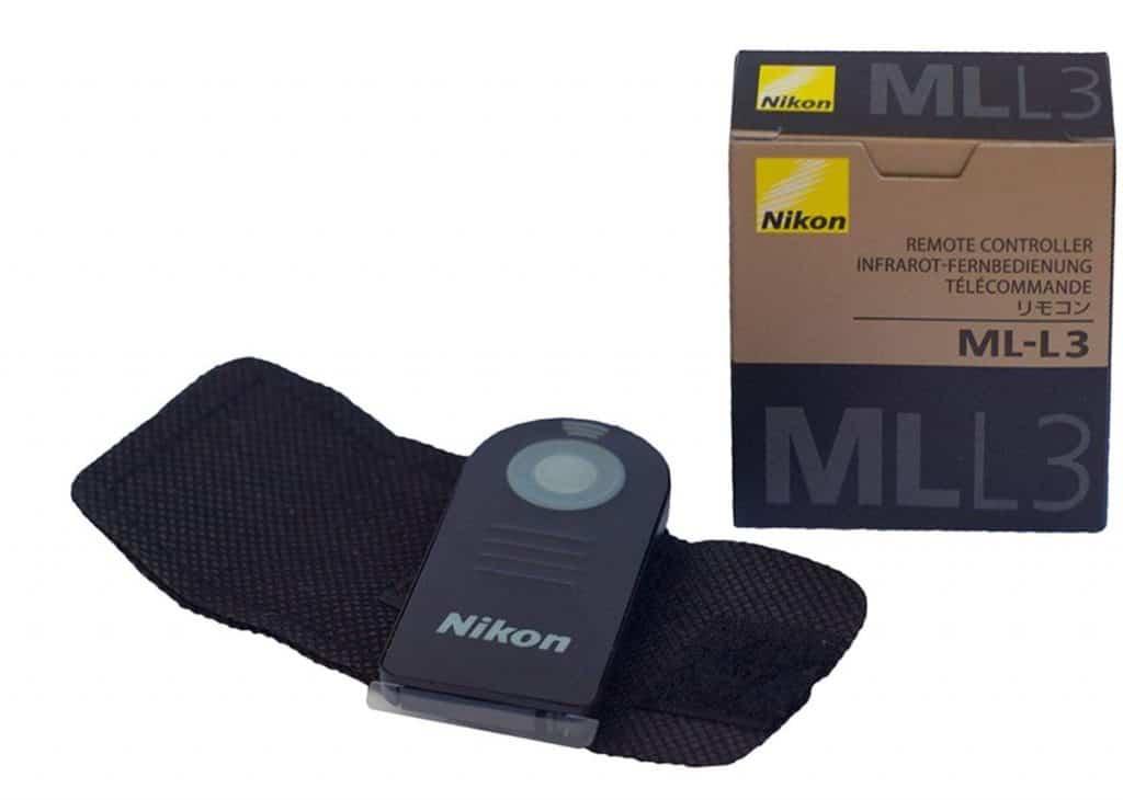 ¿Quieres el disparador remoto oficial de Nikon? Control remoto por infrarrojos ML-L3