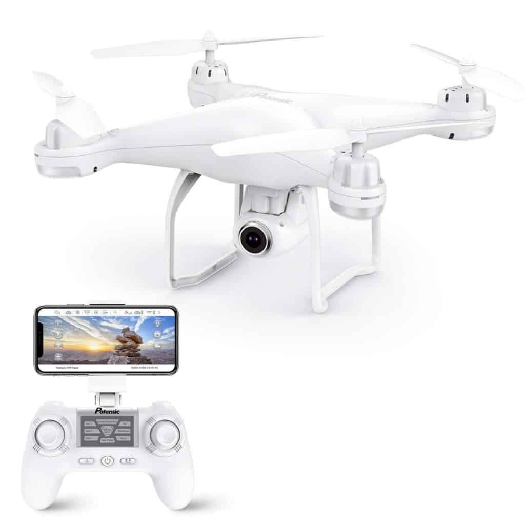 Drone GPS Potensic con cámara 1080P HD: buena opción con grandes prestaciones