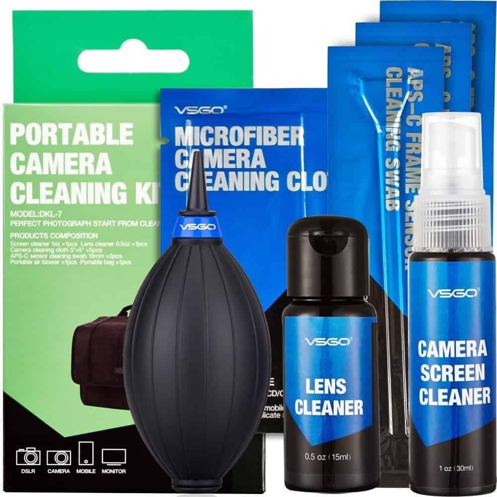 Kit de limpieza para cámaras réflex digitales de UES