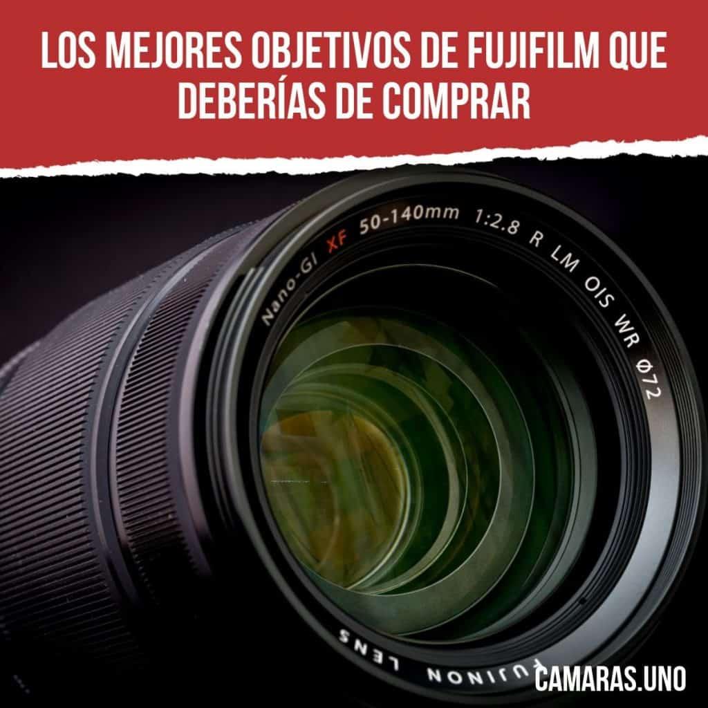 Los mejores objetivos de Fujifilm que deberías de comprar