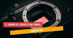 El tamaño del sensor de una cámara: ¿Full-Frame, APS-C, 4/3?