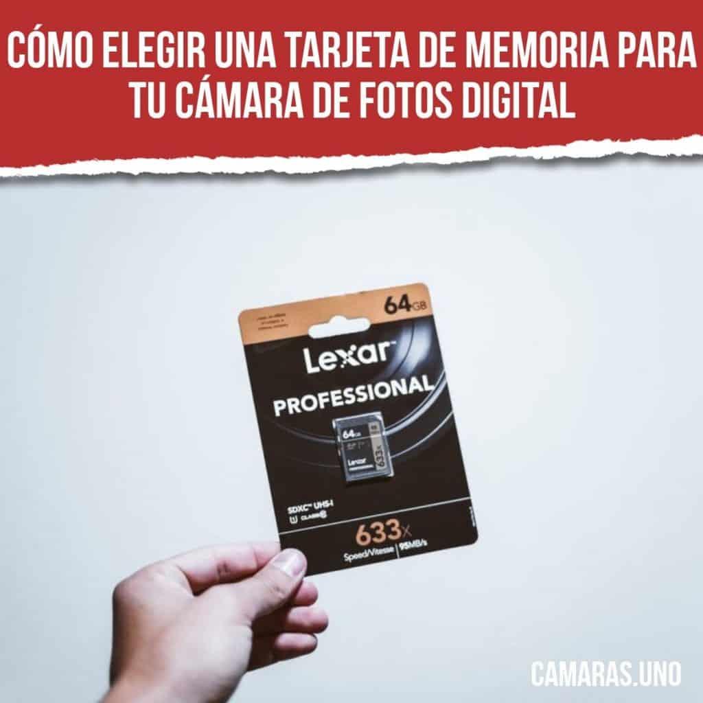 Cómo elegir una tarjeta de memoria para tu cámara de fotos digital: Compact Flash (CF), SD, SDHC, SDXC