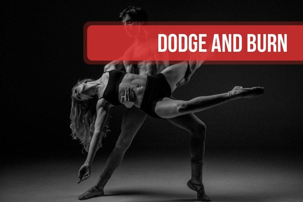 "Dodge and burn o ""oscurecer y aclarar"