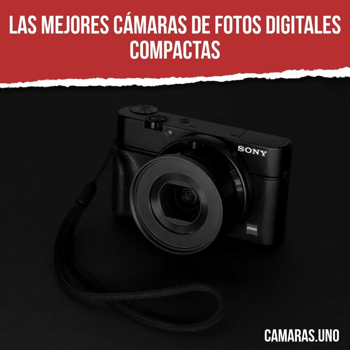 Las mejores cámaras de fotos compactas buenas y baratas