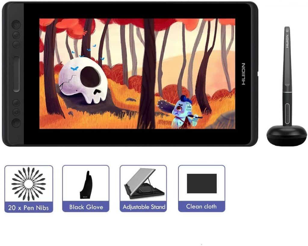 HUION KAMVAS Pro 13 - Tableta gráfica con pantalla
