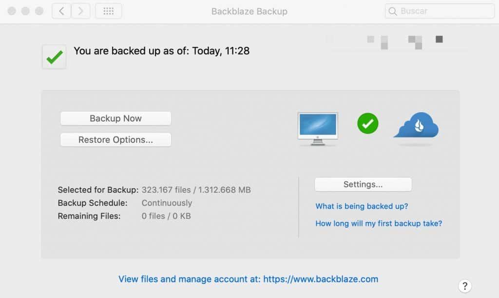 BackBlaze (Personal Cloud Backup)