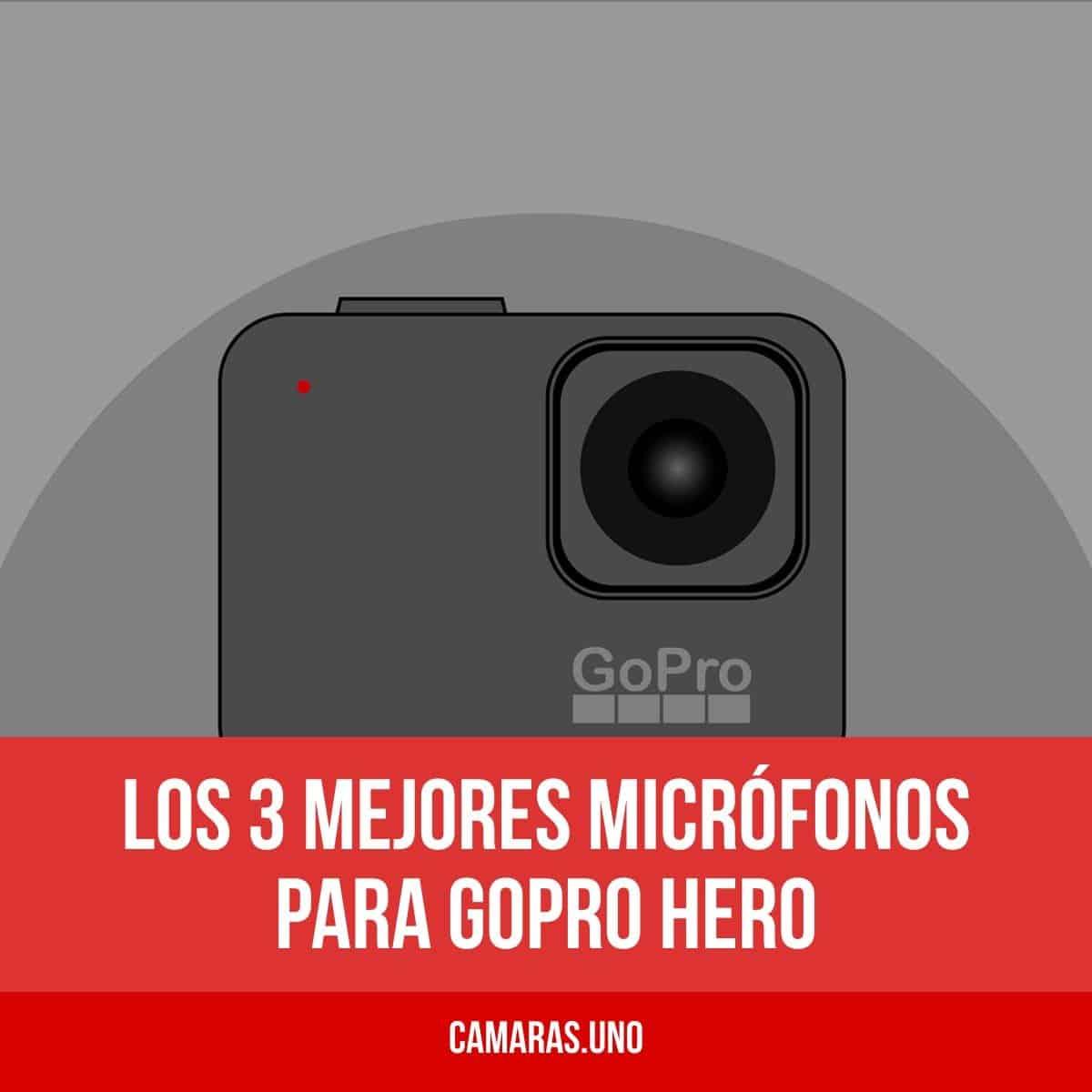 Los 3 mejores micrófonos para GoPro HERO8, HERO7 o HERO6, 5, 4