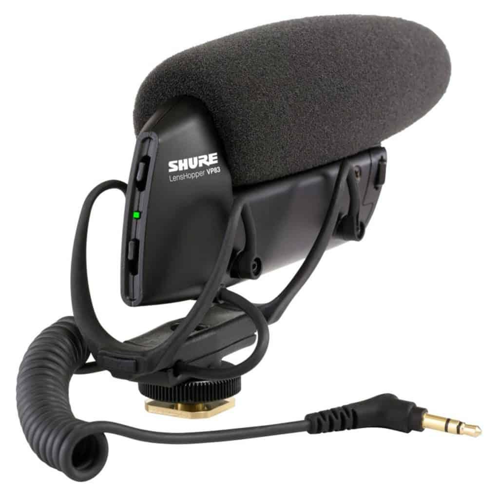Shure VP83 LensHopper - micrófono de condensador