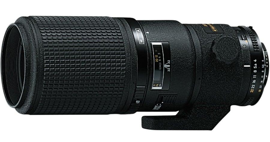 Nikon AF Micro Nikkor 200mm F4D - Objetivo con montura para Nikon