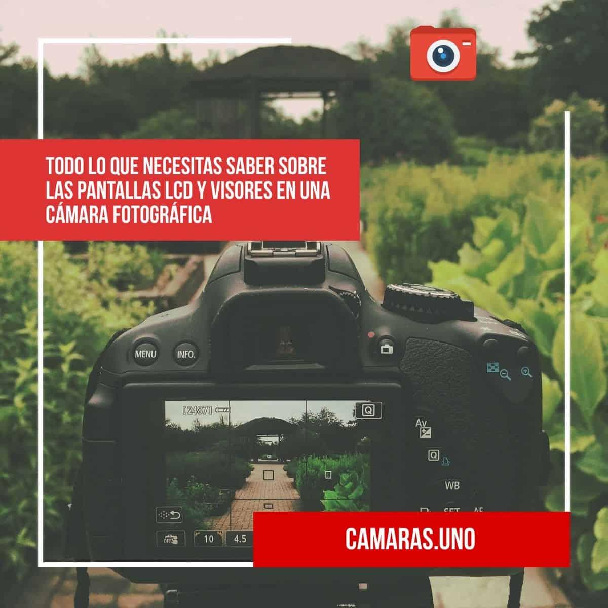 Todo lo que necesitas saber sobre las pantallas LCD y visores en una cámara fotográfica
