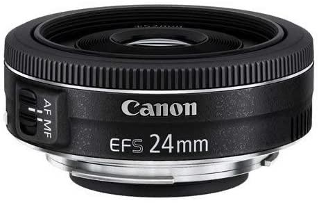 Canon Pancake EF-S 24 mm f/2.8 STM - Objetivo para Canon