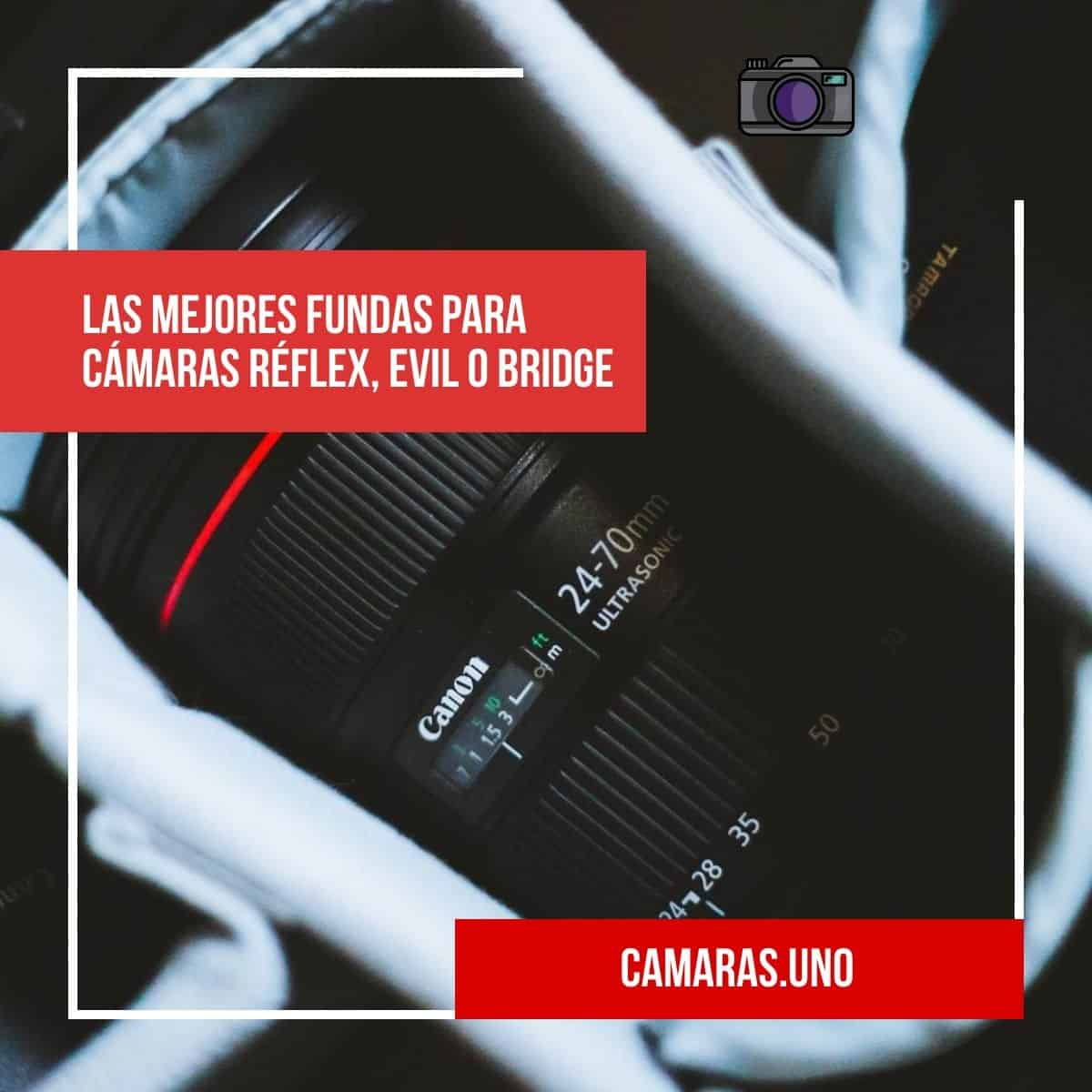 Las mejores fundas para cámaras réflex, EVIL o Bridge