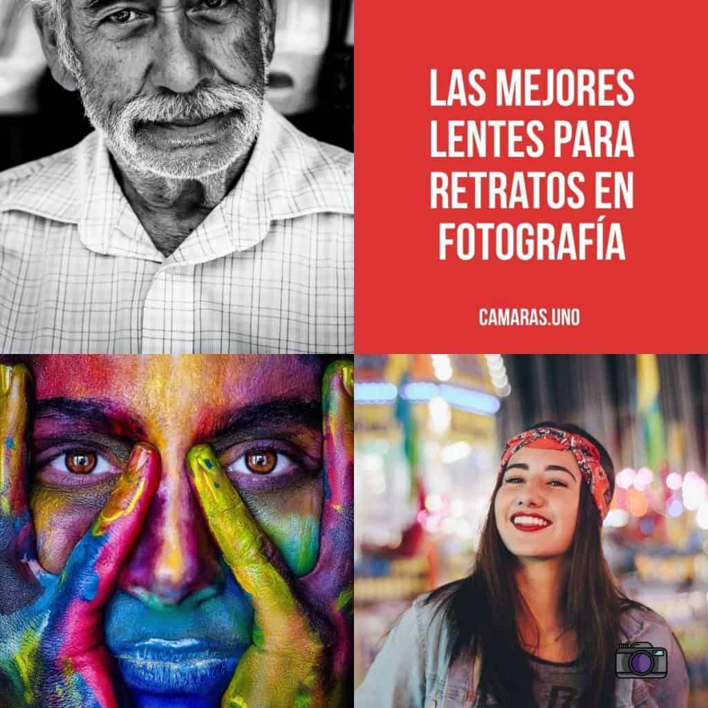 Las mejores objetivos para retratos en fotografía: lentes para Canon, Nikon, Sony...