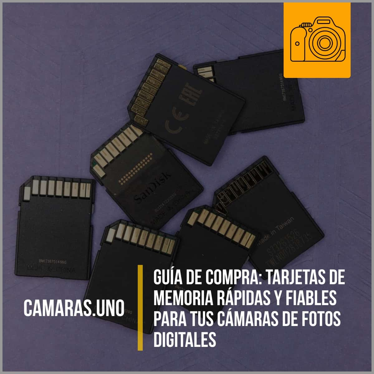 Comprando tarjetas de memoria rápidas y fiables para tus cámaras de fotos digitales