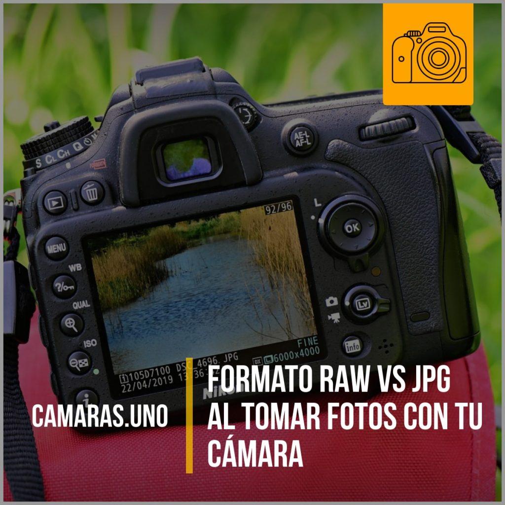 Formato RAW vs JPG al tomar fotos con tu cámara
