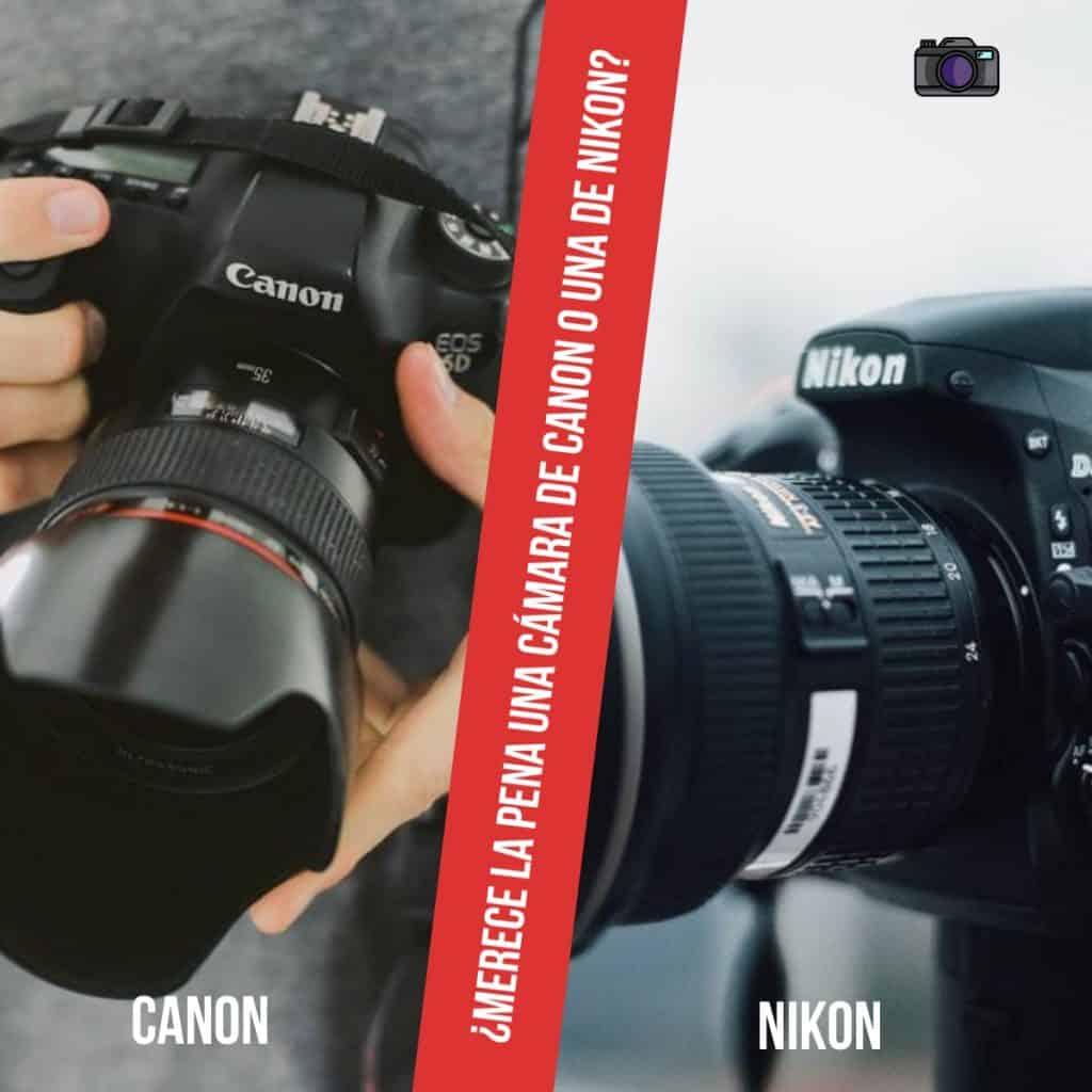 ¿Qué diferentes características clave nos ofrece un sistema u otro? ¿Merece la pena una cámara de Canon o una de Nikon?