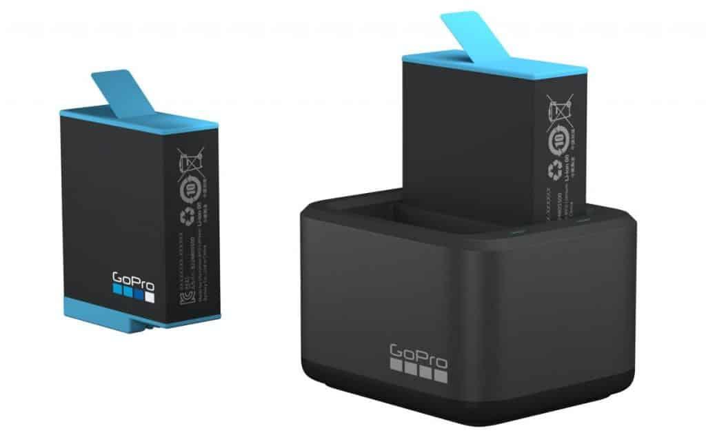 Cargador de batería dual y batería para la HERO9 Black