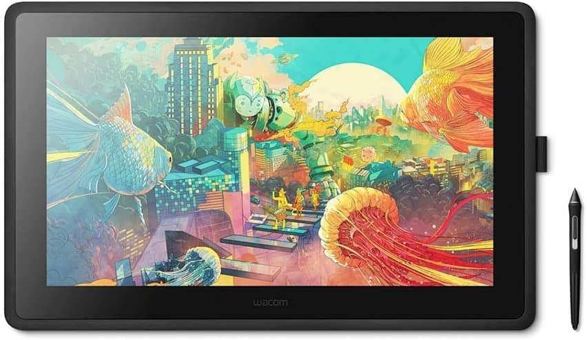 La mejor tableta gráfica con pantalla para dibujar: Wacom Cintiq 22