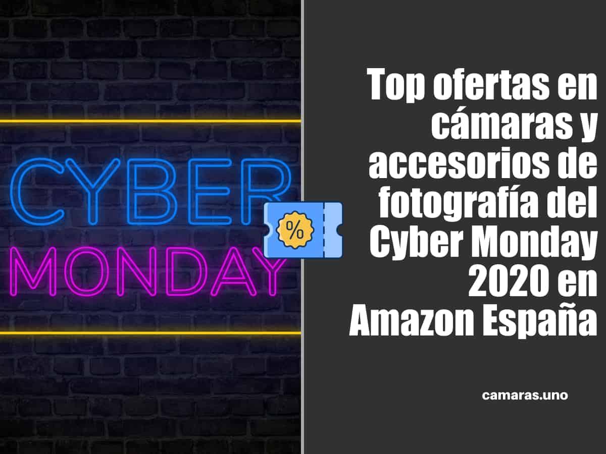 Top ofertas en cámaras y accesorios de fotografía del Cyber Monday 2020 en Amazon España