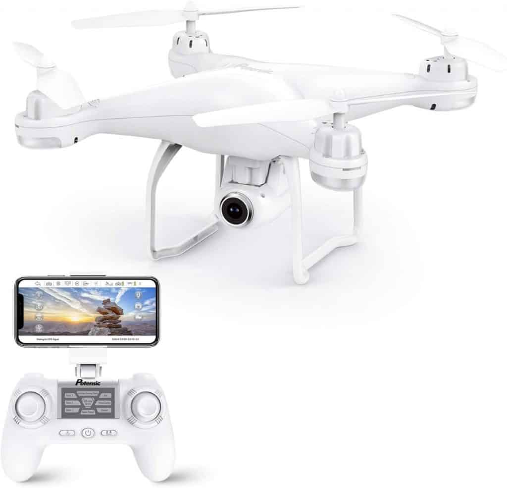 Potensic Drone GPS, Drone con Cámara 1080P HD con Follow Me