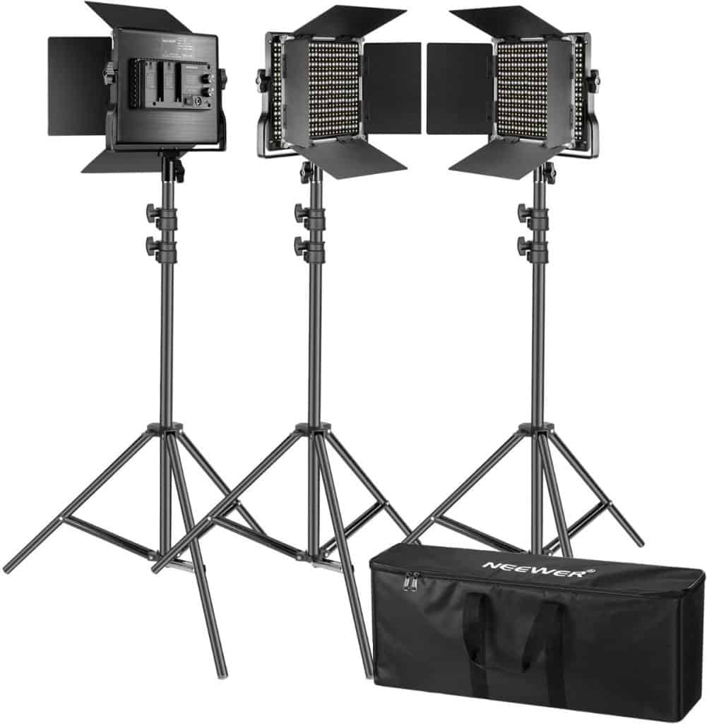 Kit Neewer de 3 luces 660 LED
