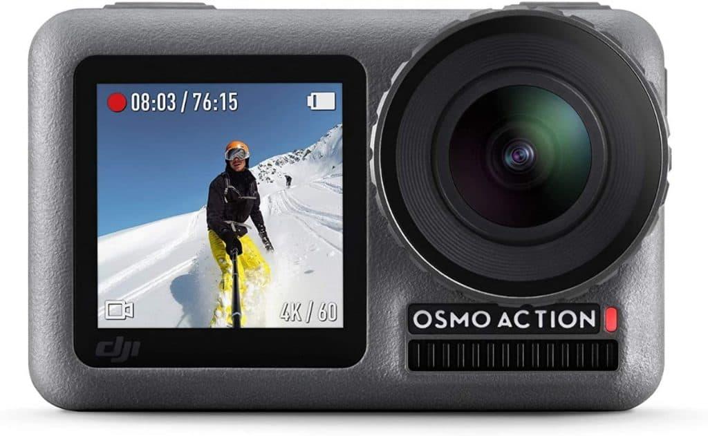 DJI Osmo Action Cam 4K con pantalla dual y resistente al agua