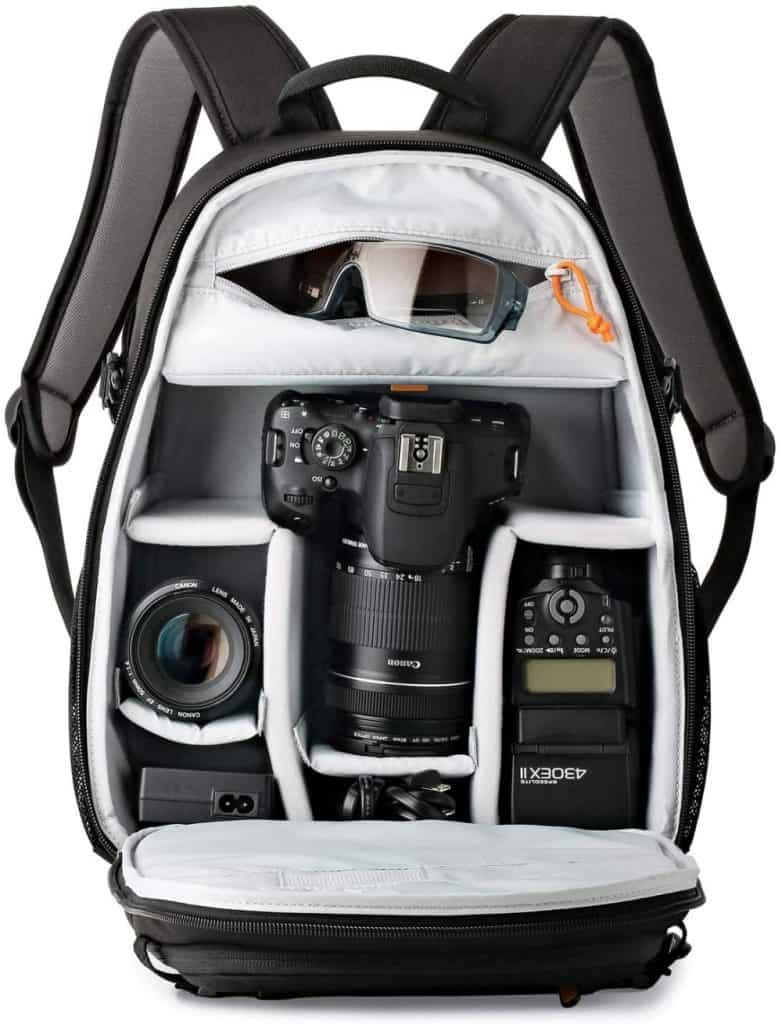 Lowepro PLECAK TAHOE BP 150 BLACK: perfecta para una sola cámara réflex