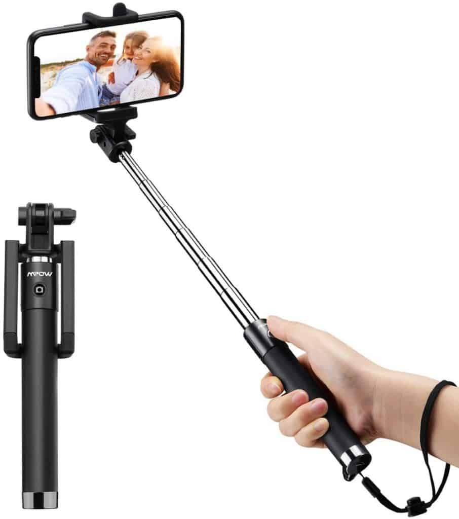 Palo Selfie Mpow con Bluetooth