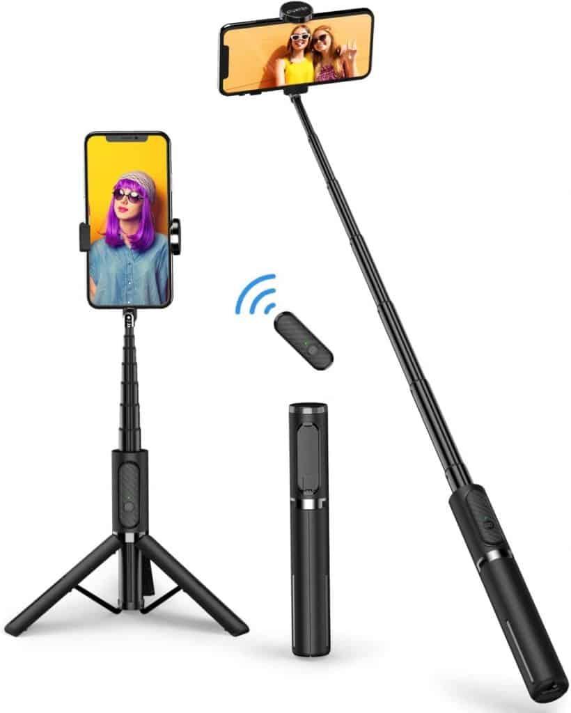 Palo selfie y trípode con Bluetooth de ATUMTEK