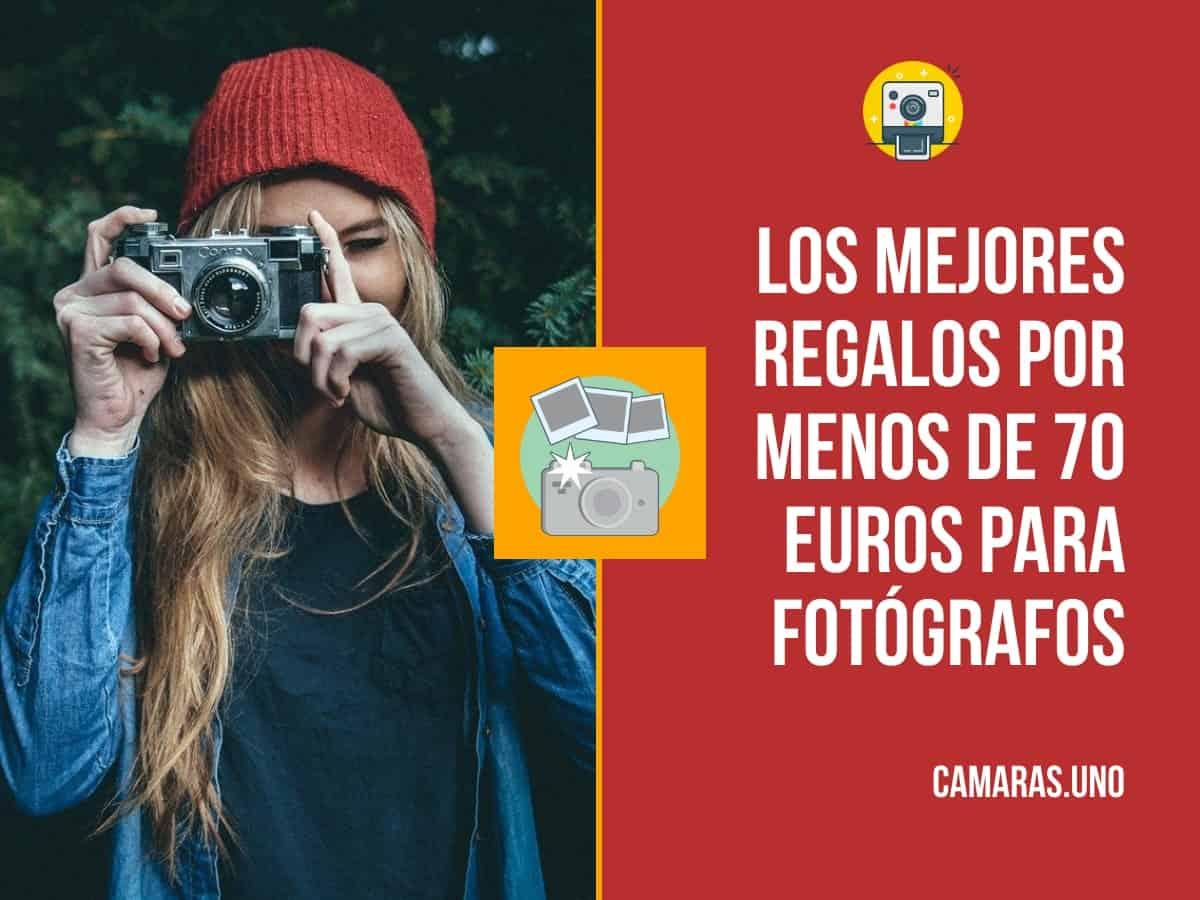 Los 10 mejores regalos por menos de 70 euros para fotógrafos