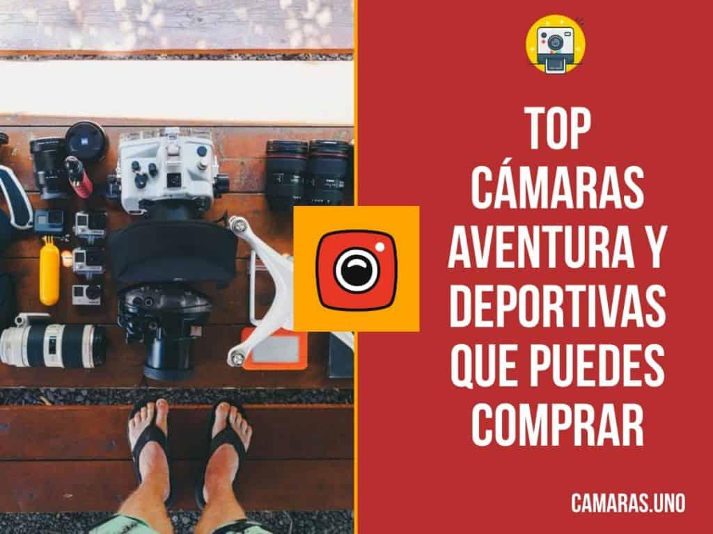 op cámaras aventura y deportivas que puedes comprar