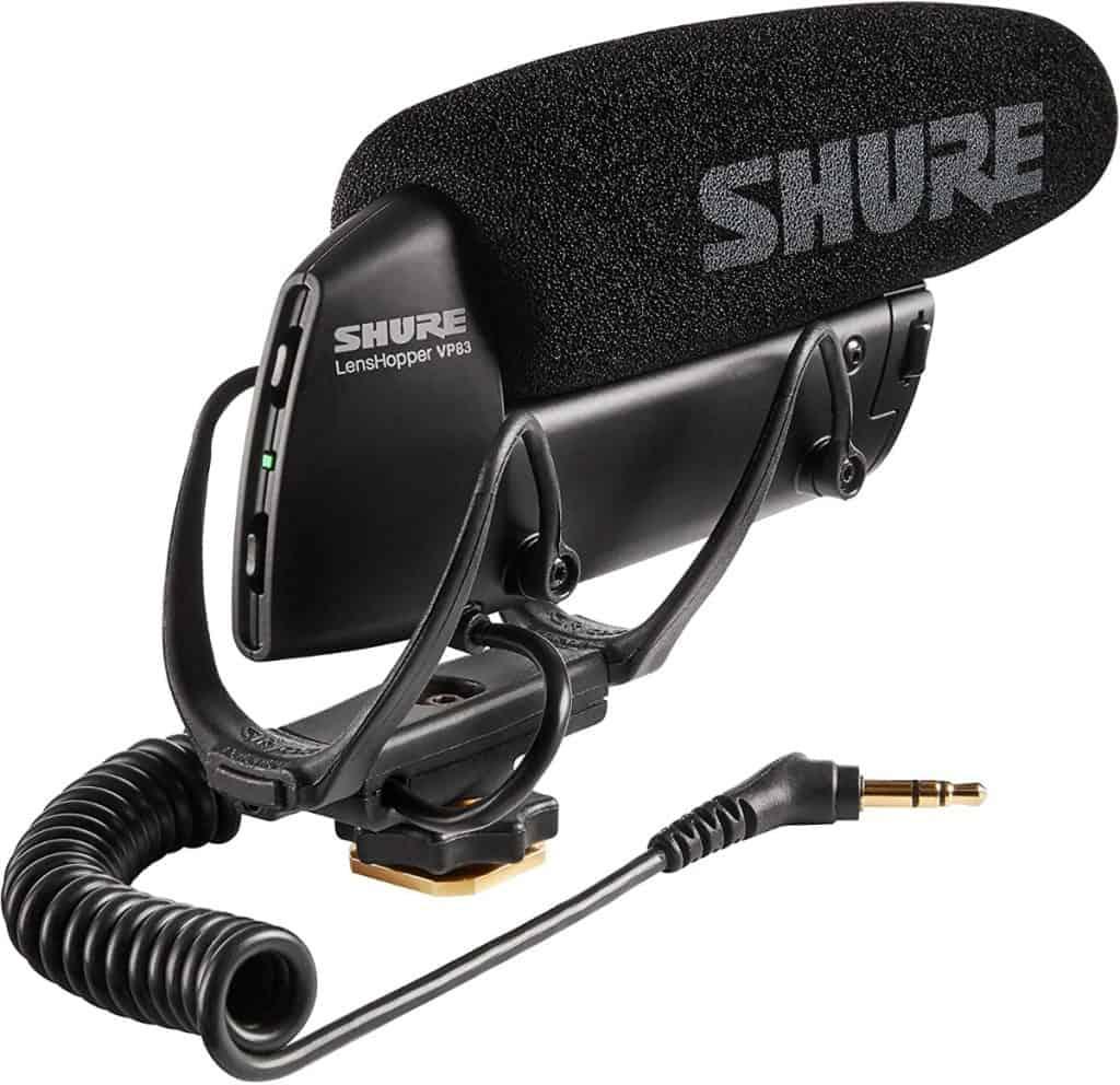 SHURE VP83 - Micrófono de cañón (condensador)